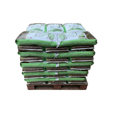 Equigrow Organic Green Compost Peat Free - 50 Bags