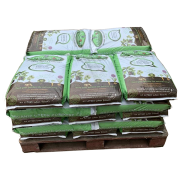 Equigrow Organic Green Compost Peat Free - 25 Bags