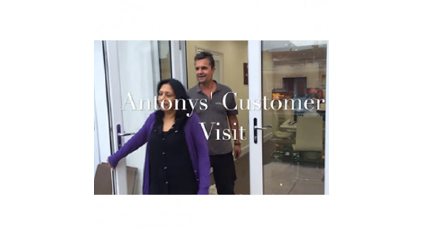 Antony Henn Customer Visit