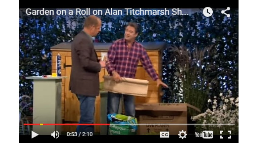 Garden on a Roll on the Alan Titchmarsh Show