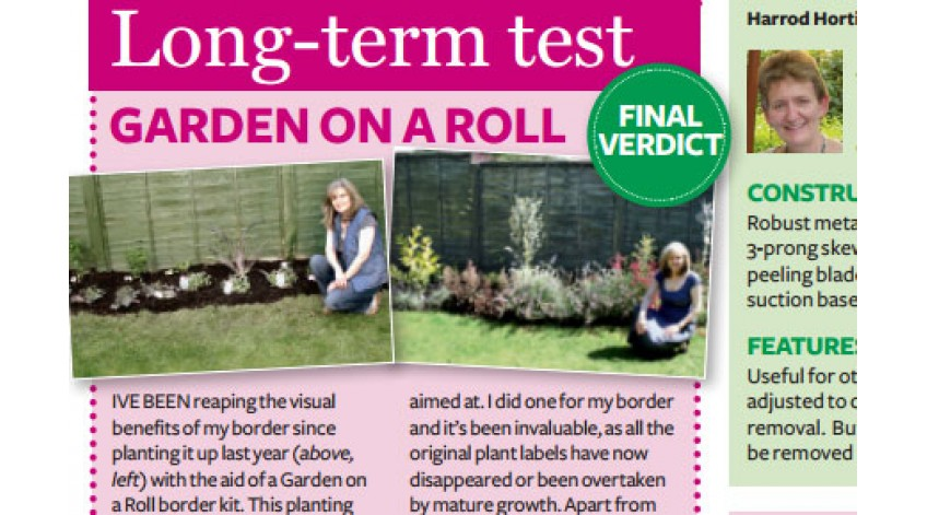 Amateur Gardening Magazine Article – October 2012