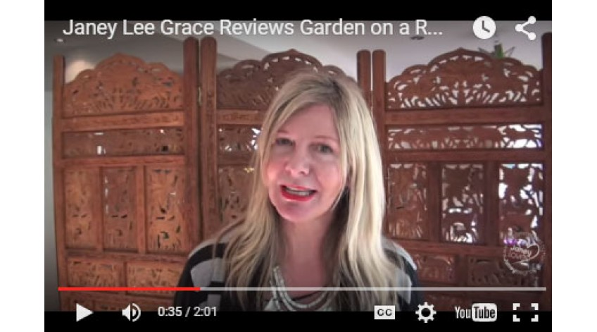 Janey Lee Grace Reviews Garden on a Roll