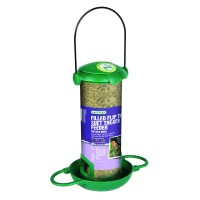 Filled Flip Top Suet Treats Bird Feeder